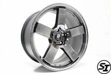 Rota Huck Gee Wheels 18x95 35 5x1143 Hyper Black Fits Subaru Wrx Sti 15 17