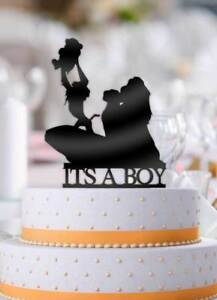 Image Is Loading Disney Lion King Its A Boy Baby Shower