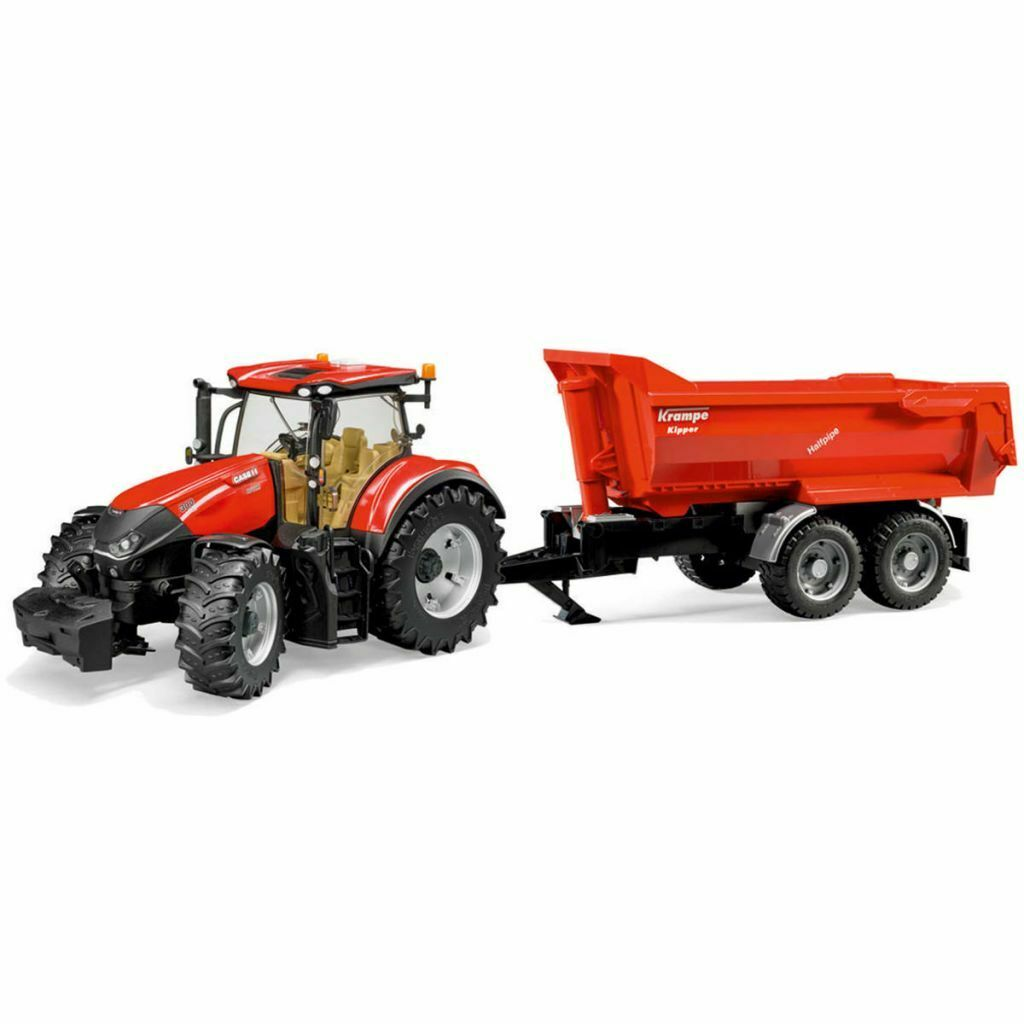 Bruder Tracteur avec remorque Case IH Optum  300 CVX 1 16 véhicule jouet  meilleure réputation