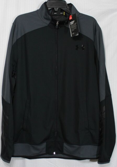 NWT$70 Under armour Men UA Combine Warm Up Training Jacket Regular Fit Sm /& Med