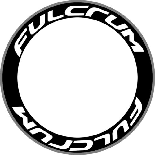 FULCRUM Carbon Bike//Cycling//Cycle//Push Bike Wheel Rim Decals Stickers Kit 2 RIMS