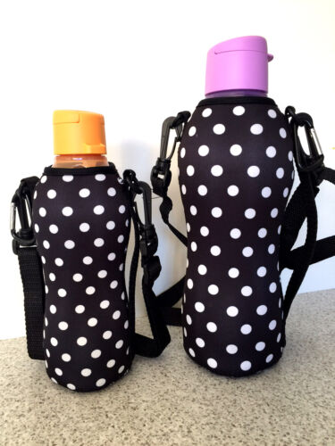 1L KYCA SPORTS WATER BOTTLE COVERCOOLER FITS NEW SHAPE TUPPERWARE BOTTLE