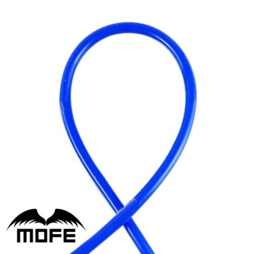 MOFE Universal 1M 3mm//4mm//6mm//8mm Silicone Vacuum Tube Hose Silicon Tubing Blue