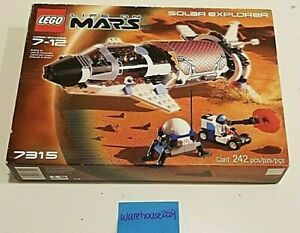 LEGO-7315-Space-Life-On-Mars-Solar-Explorer-Year-2001-Retired-NEW-SEALED