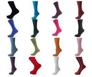 Dashing Mode Einfarbig Herren Alltag Söckchen 16 Farben Size 6 Bis 11 39-45 Gr