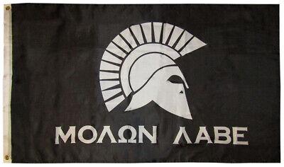 Molon Labe 2 Änderung Come /& Take It Militär Spartan 3x5 Flagge Banner 100D