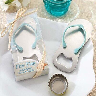 Beach Flip Flops Bottle Opener Corkscrew Bridal Shower Wedding Favors Hot