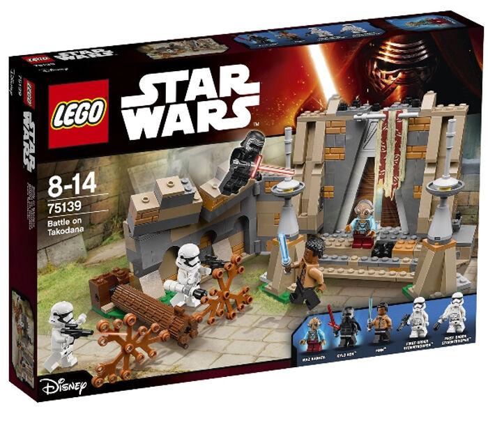 LEGO STAR WARS 75139 battle on Takodana (New)