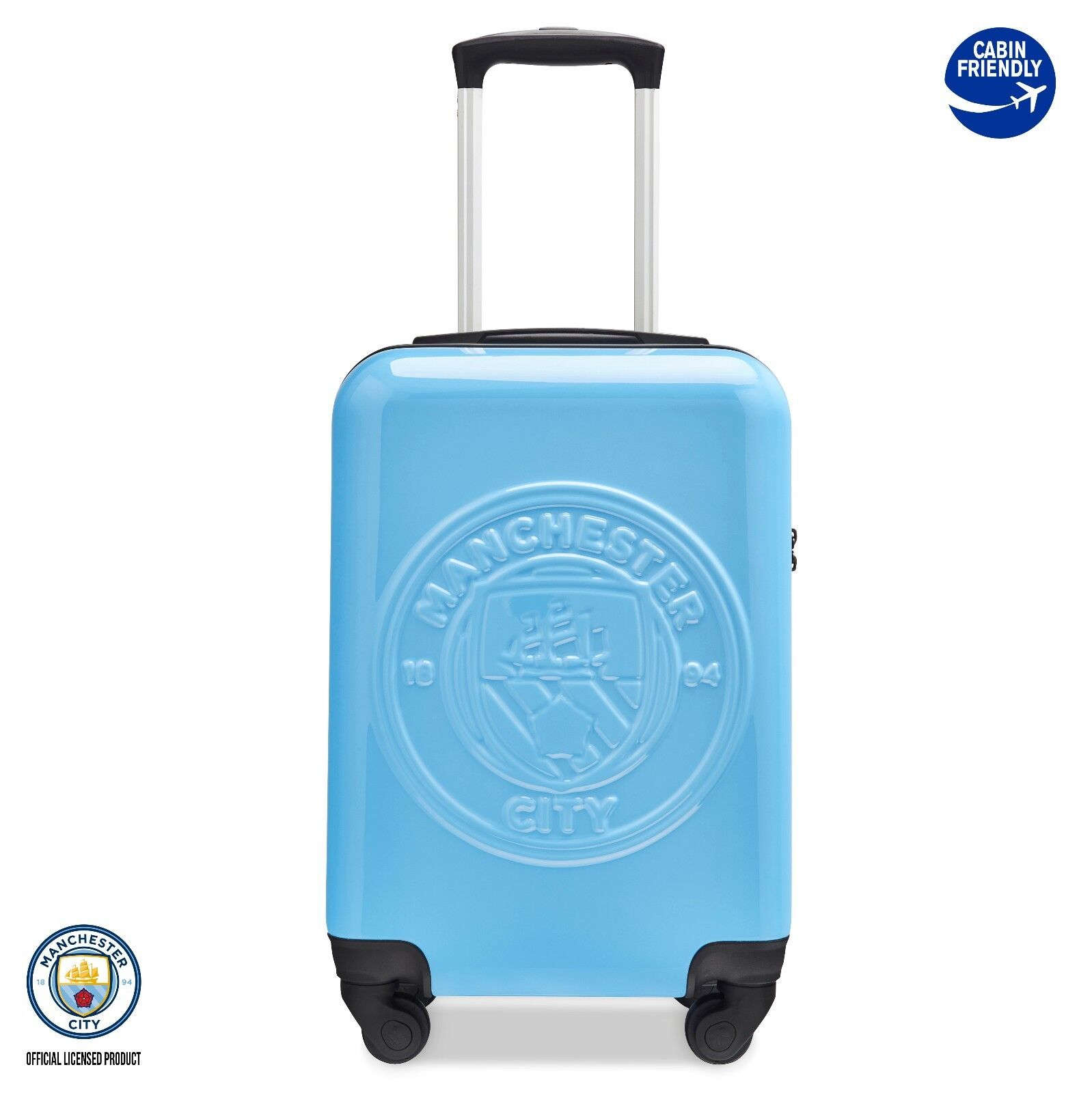 Licence Officielle Manchester Manchester Manchester City Football Club cabine valise Travel Case 993aac