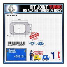 Joints Turbo 1.4 110 Cv Renault R5 Alpine Turbo  Garrett TB0319 465916-1