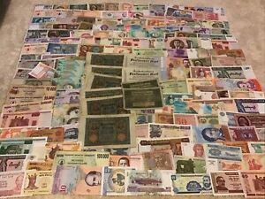World Banknote Joblot. 160 + Banknotes. Enormous Collection. Dealer Lot.