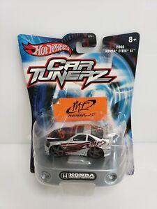 Mattel-Hot-Wheels-Car-Tunerz-2000-Honda-Civic-Si-Silver