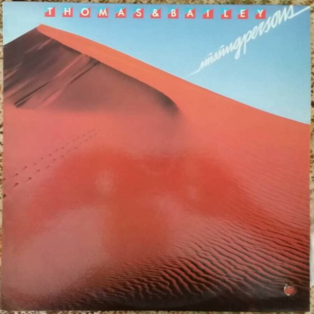 1979 RARE G WAYNE THOMAS AND PETER BAILEY - MISSING PERSONS LP - 2907054 NM- OZ