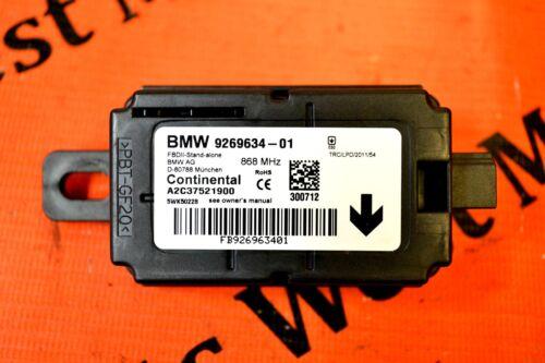 BMW 1 2 3 4 SERIES F20 F21 F22 F30 F31 F32 F25 F26 REMOTE CONTROL MODULE 9269634