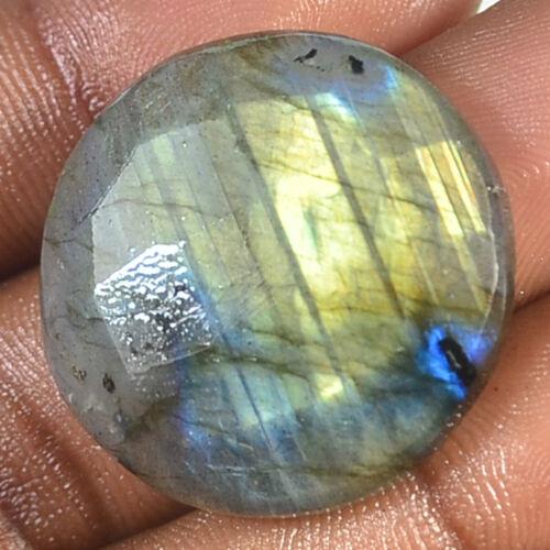 Details about  /100/%Natural Labradorite Checker Cut Oval round Cabochon Gemstone