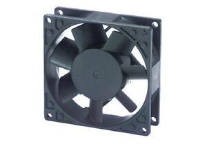 Ventola-assiale-220-Vca-80x80x25-in-metallo-alluminio-su-bronzine-fan-cooling
