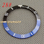40mm-Red-Black-Blue-Green-Ceramic-Titanium-bezel-insert-fit-GMT-automatic-watch thumbnail 29