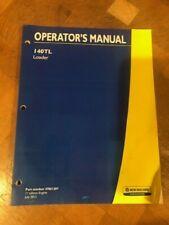 New Hollandloadermodel 140tlcompact Tractoroperators Manual