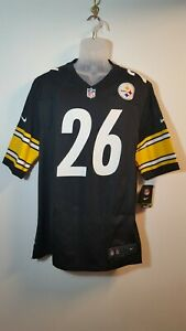 Nike #26 Le'Veon Bell Pittsburgh Steelers NFL Game Jersey Size: Large, New.