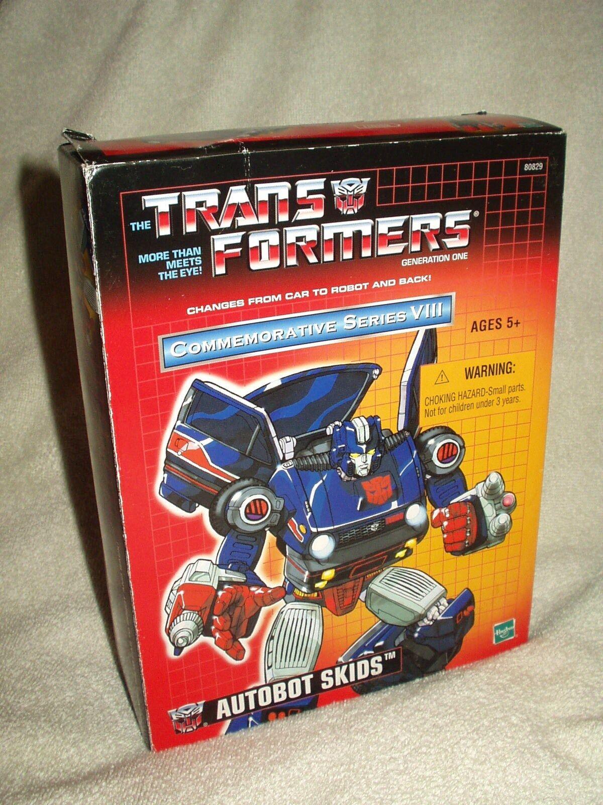 Figurine transformers takara réédition commémorative Série VIII patins