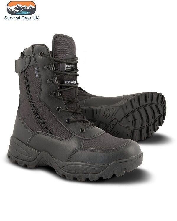Kombat Nero YKK Ops tecnologia Thinsulate Foderato Spec Ops YKK Recon Boot Stivali Militari 878863