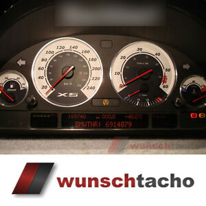 Tachoscheibe-fuer-BMW-E38-E39-E53-X5-034-Sport-X5-034-Diesel