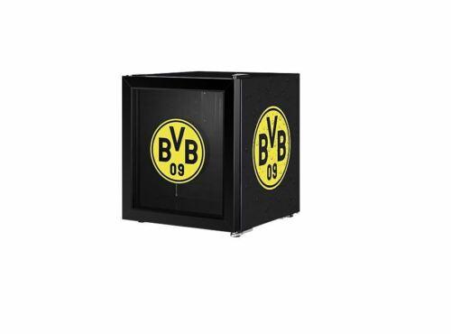 Bon état ECG ERM 10510 BVB Réfrigérateur Borussia Dortmund 48 L Poudre Revêtement EEK