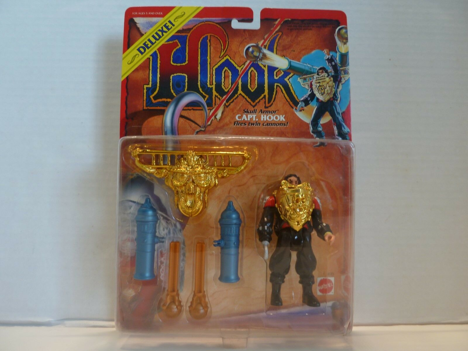 HOOK movie Mattel 4 different Captain Hook figures
