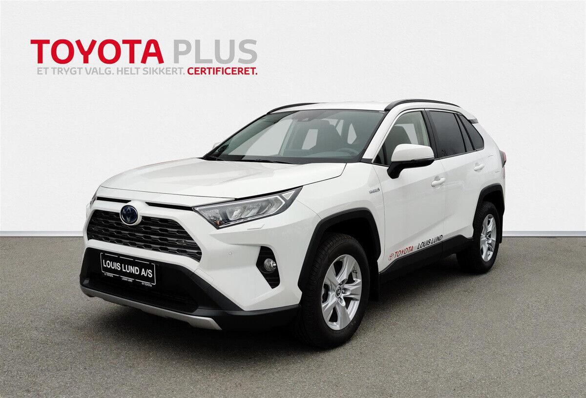 Toyota RAV4 2,5 Hybrid H3 CVT 5d - 392.900 kr.