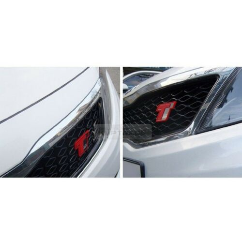 Front Grill Turbo GDi Red Point Emblem Logo Badge for KIA 2014-2015 Optima K5