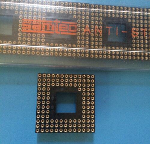 MVAS-121-ZSGT-13A SAMTEC Conn PGA Socket SKT 121 POS 2.54mm Solder ST Thru-Hole