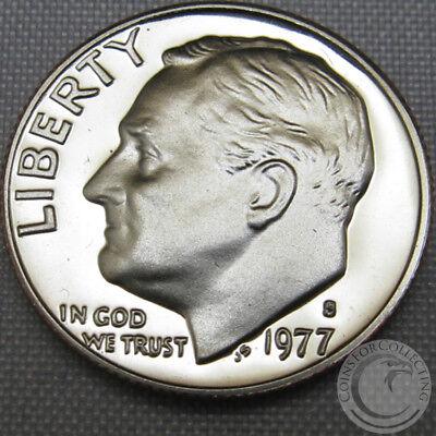 Deep Cameo! 1977-S Proof Roosevelt Dime