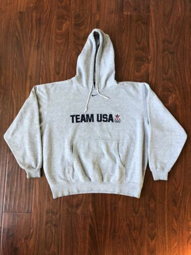 Vintage Nike Center Swoosh Hoodie Sweatshirt Travi