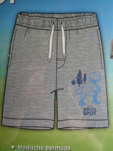 Jungen Bermuda Arlo /& Spot 122//128  *OVP Kurze Hose Grau Disney