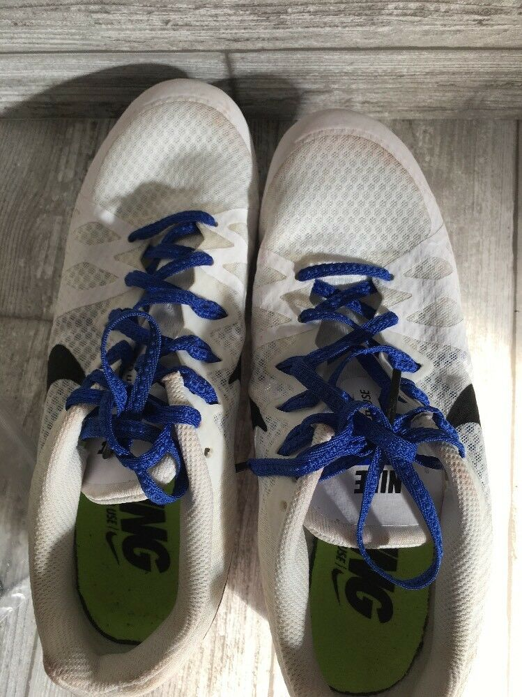 nike zoom rival m course 806555100 blanc champ champ champ chaussures taille 7,5   Exquis Art  81e51a