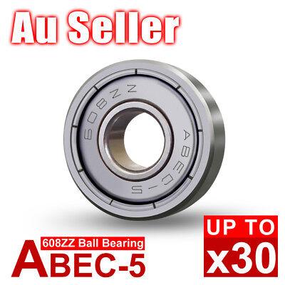 20X 608ZZ Ball Bearings PREMIUM ABEC-7 CNC Skateboard 3D Printer RepRap