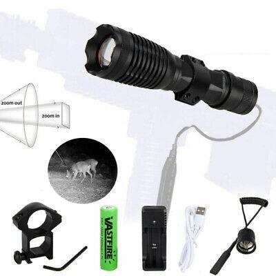850nm IR illuminator Infrared Light Night Vision Zoom Predator Torch+Scope Mount
