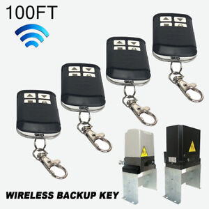 2X Wireless Backup Key Kit for Sliding Gate Opener Automatic Operator Exclusive