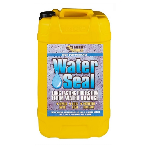 Everbuild 402 Waterseal Water Repellent Transparent Brick Concrete 25 Litre