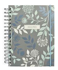 Mirabelle anillo obligado libro de recetas portátil – en Blanco Carpeta de archivo-Portico Designs