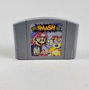 Super Smash Bros (Nintendo 64, 1999) N64 Cartucho sólo Auténtico