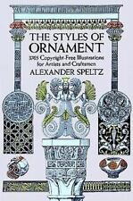 Dover Pictorial Archive: Styles of Ornament by Alexander Speltz (1959, Paperback)