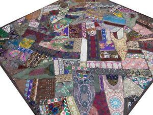 Möbel & Wohnen Indische Tagesdecke Grün Quilt Patchwork Indien Wandteppich Hippie Boho Decke G