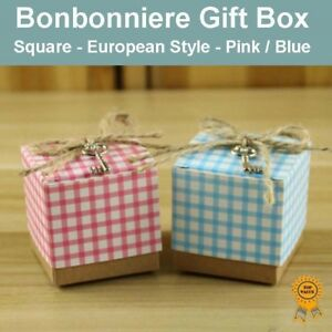 Gold 53x53x132mm Bonbonniere Bomboniere Candy Gift Boxes Chair