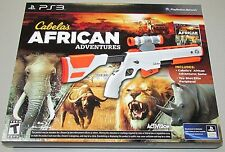 Cabela's African Adventures Bundle for Playstation 3 Brand New!