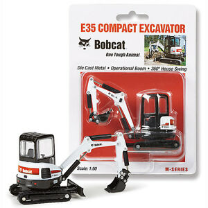 NEW-1-50-BOBCAT-EQUIPMENT-Model-E35-Compact-Excavator-DIECAST-MODEL-NIP