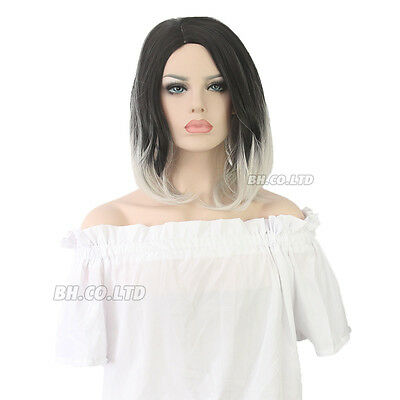 Womens Ladies Wigs Short Long Straight Curly Wavy Synthetic Hair Dress Costumes
