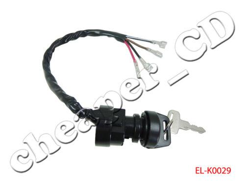 Ignition Key Switch FITS POLARIS TRAIL BOSS 350 350L 2X4 4X4 1990 1991 1992 ATV