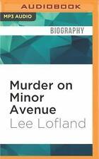 Murder on Minor Avenue by Lee Lofland (2016, MP3 CD, Unabridged)