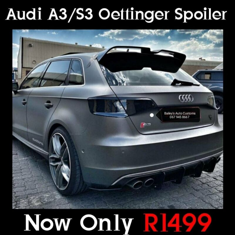 Audi A3 / S3 Oettinger Roof Spoiler